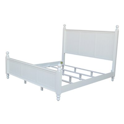 Quahog Panel Bed Size: King
