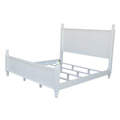 Quahog Panel Bed Size: King