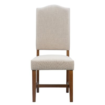Myria Upholstered Dining Chair Color: Pecan