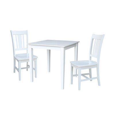 Crocker 3 Piece Dining Set