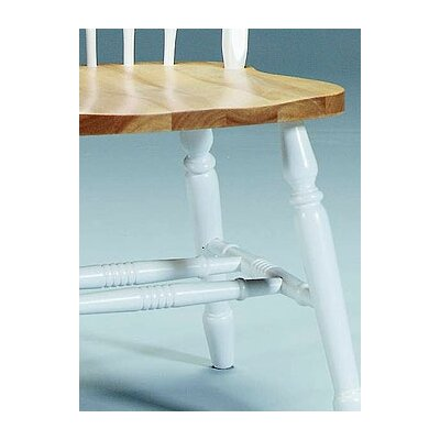 Low Price International Concepts Arrowback Windsor Side Chair Finish: White and Natural