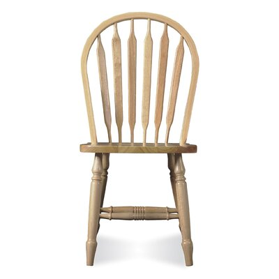 Low Price International Concepts Arrowback Windsor Side Chair Finish: Unfinished
