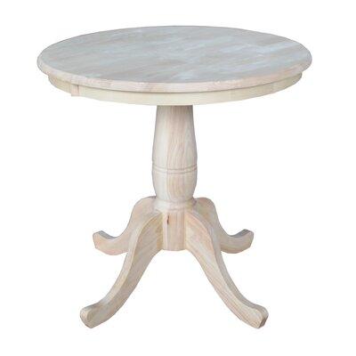 Prattsville Pedestal Dining Table Size: 30