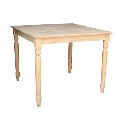 International Concepts Turned Dining Table - Size: 36