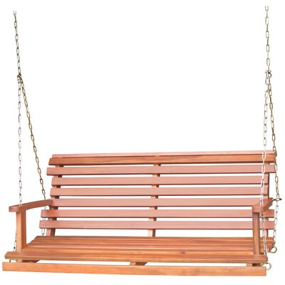 Preble Traditional Porch Swing Finish: Oiled Finish