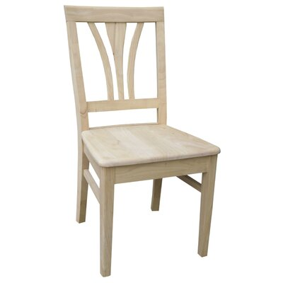 Imogene Fanback Solid Wood Dining Chair