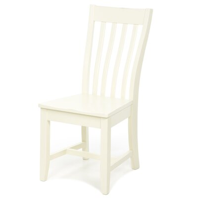 Camille Solid Wood Dining Chair Finish: Antique Ivory