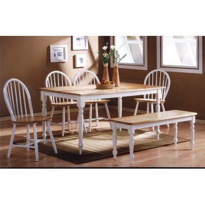 Bella Tile Top 6 Piece Dining Set