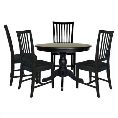 Biermann 5 Piece Dining Set