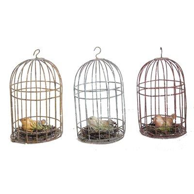 Bird Cage Tree Ornament
