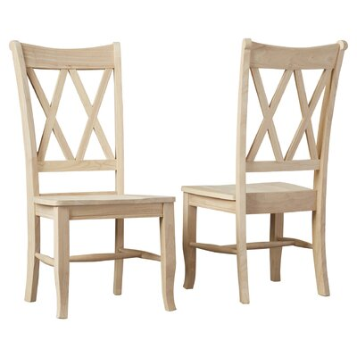 Imogene Cross Back Side Chair
