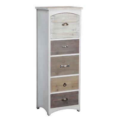 Belgrave Tall 5 Drawer Lingerie Chest