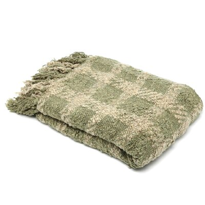 Paula Woven Throw Blanket Color: Willow