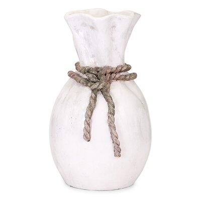 Callum Rope Vase Size: Large