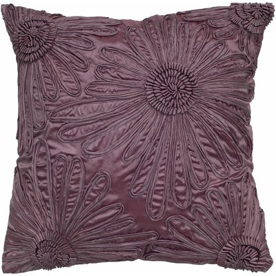 Adah Silk Pillow Color: Plum