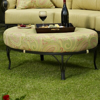 Downey Ottoman with Cushion Fabric: Canyon Antique