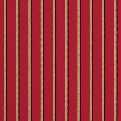 Downey Ottoman with Cushion Fabric: Harwood Crimson