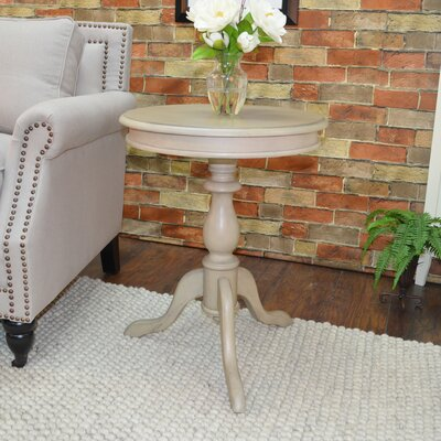 Celestine End Table Color: Weathered Grey