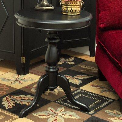 Celestine End Table Color: Antique Black