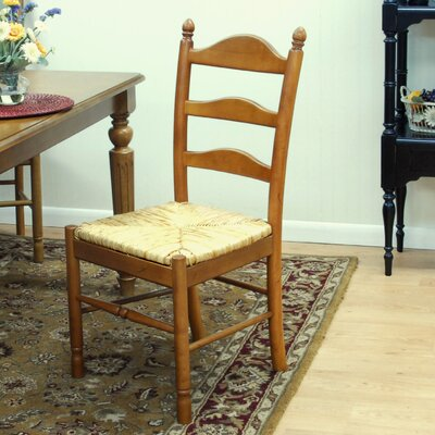 Emilia Side Chair Finish: Rich Chestnut