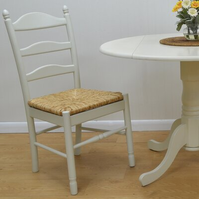 Emilia Side Chair Color: Antique Ivory