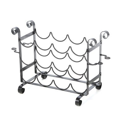 Bess 12 Bottle Tabletop Wine Rack