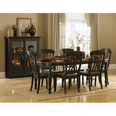 Frona Side Chair (Set of 2) Finish: Antique Black