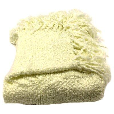 Nova Woven Throw Blanket Color: Natural