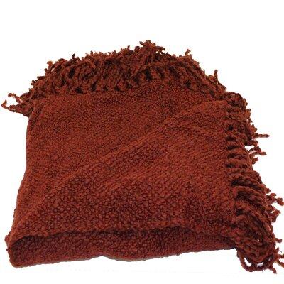Nova Woven Throw Blanket Color: Opus