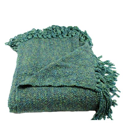 Nova Woven Throw Blanket Color: Ocean