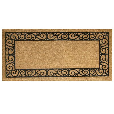 Era Natural French Quarters Doormat Mat Size: Runner 19 x 310