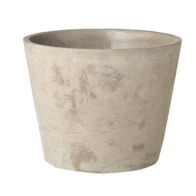 Emilie Round Cement Pot Planter