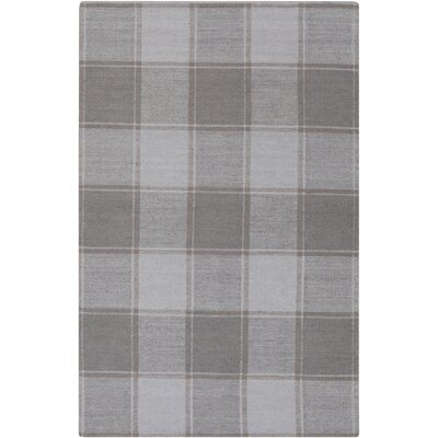 Meyers Traditional Hand-Woven Gray Area Rug Rug Size: 2 x 3