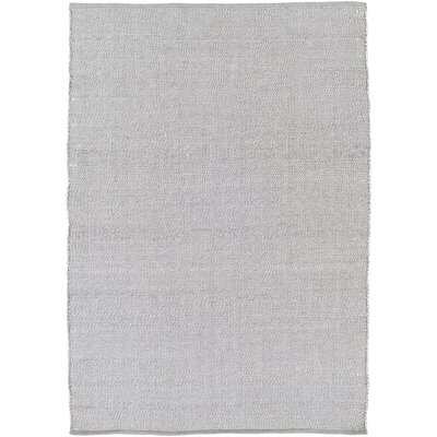 Nonie Hand-Woven Gray Indoor/Outdoor Area Rug Rug Size: 5' x 7'6