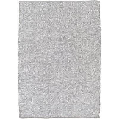Nonie Hand-Woven Gray Indoor/Outdoor Area Rug Rug Size: 8' x 10'