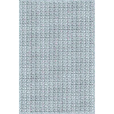 Myrtle Hand-Woven Blue Indoor/Outdoor Area Rug Rug Size: 4 x 6