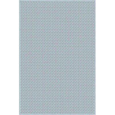 Myrtle Hand-Woven Blue Indoor/Outdoor Area Rug Rug Size: 5 x 76