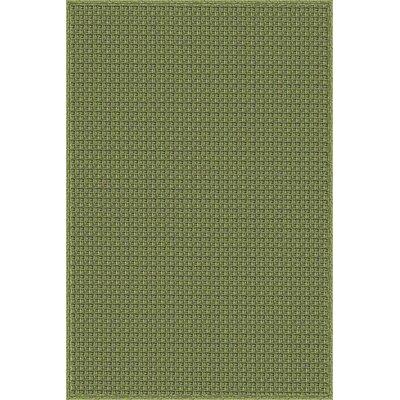Myrtle Hand-Woven Green Indoor/Outdoor Area Rug Rug Size: 8 x 10