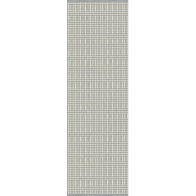 Mollie Hand-Woven Blue/Gray Indoor/Outdoor Area Rug Rug Size: Runner 26 x 8