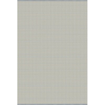 Mollie Hand-Woven Blue/Gray Indoor/Outdoor Area Rug Rug Size: 4 x 6