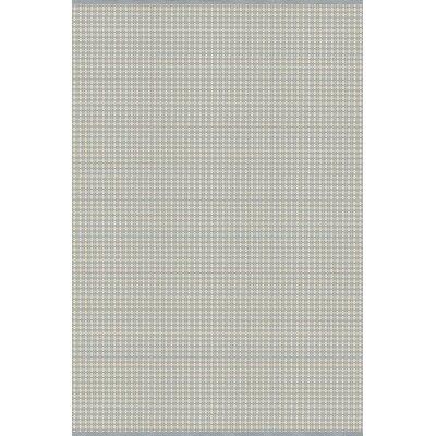 Mollie Hand-Woven Blue/Gray Indoor/Outdoor Area Rug Rug Size: 5 x 76