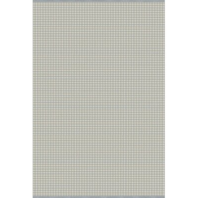 Mollie Hand-Woven Blue/Gray Indoor/Outdoor Area Rug Rug Size: 8 x 10