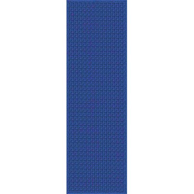 Myrtle Hand-Woven Blue Indoor/Outdoor Area Rug Rug Size: Runner 26 x 8