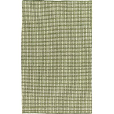 Mollie Hand-Woven Green Indoor/Outdoor Area Rug Rug Size: 4 x 6