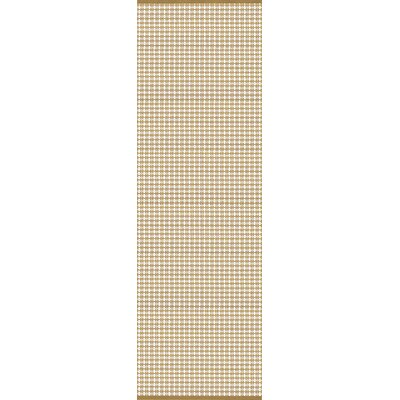 Mollie Hand-Woven Brown Indoor/Outdoor Area Rug Rug Size: Runner 2'6 x 8'