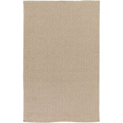 Myrtle Hand-Woven Beige Indoor/Outdoor Area Rug Rug Size: Rectangle 5 x 76