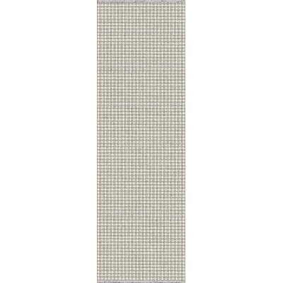 Mollie Hand-Woven Gray Indoor/Outdoor Area Rug Rug Size: Runner 26 x 8