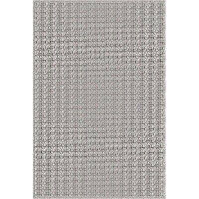 Myrtle Hand-Woven Gray Indoor/Outdoor Area Rug Rug Size: 5' x 7'6