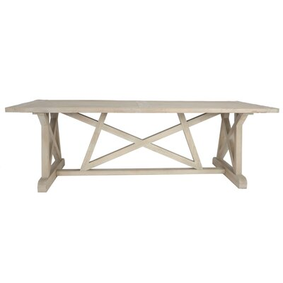 Elvaston Dining Table Color: Gray