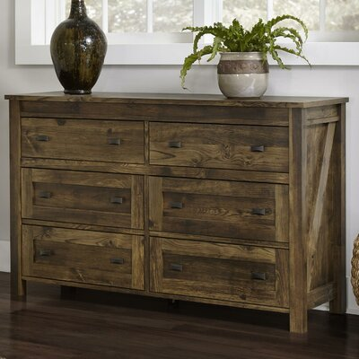 Gilby 6 Drawer Dresser